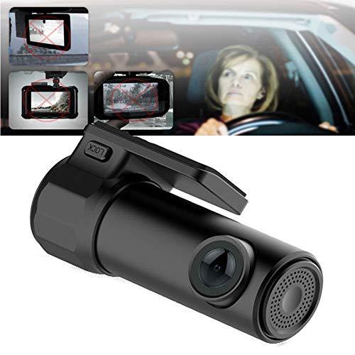 Hangang Auto DVR Kamera 1080P Car Recorder 170 Grad Weitwinkel 360 ° Drehung , WDR, Bewegungserkennung, Parkmonitor, Loop-Aufnahme , Nachtsicht und G-Sensor for New Year Gift