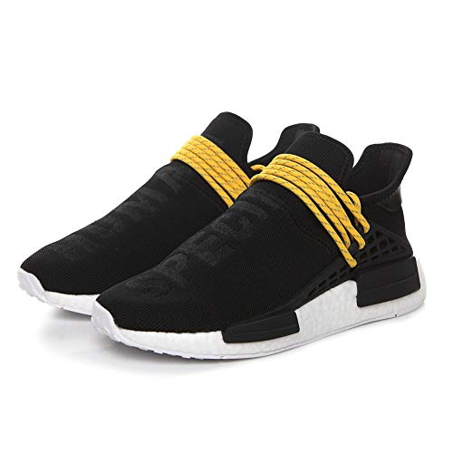 huge selection of fa643 41efb Human Race NMD Trail Pharrell Williams Sunglow Hommes Femmes Training Shoes  Running Gym Sneakers