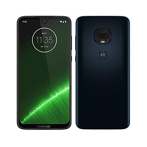 Motorola G7 Plus Smartphone débloqué 4G (6,2 Pouces, 64GO ROM, Android 9.0) Bleu Deep Indigo