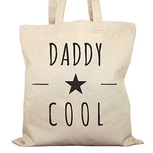 Tote Bag Imprimé Ecru - Toile en coton bio - Daddy Cool