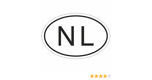 Kiwistar Niederlande Nl 10 X 6 6cm Autoaufkleber Sticker Aufkleber Kfz Flagge Auto