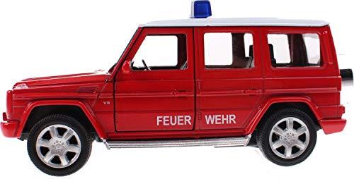 igmodell Mercedes Benz G   Polizei-Auto oder Feuerwehr-Auto freiwählbar     Maßstab 1:34   Geschen Idee Kinder Sammler Polizist Feuerwehrmann (Feuerwehrauto) ()