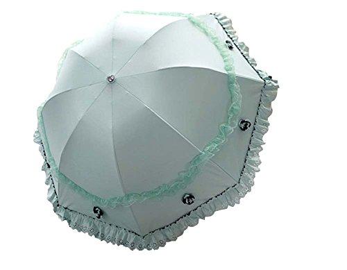 Vinyl Lace Parasol UV Sunscreen Princesse Parapluie Arc Ensoleillé Parapluie