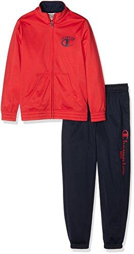 champion-bambino-tuta-zip-lunga-auth-triace-rosso-blu-xxs-304403-f16