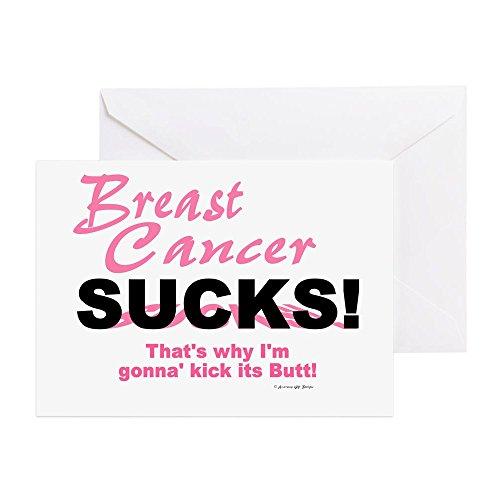bs Sucks (Kick Its Butt) - Grußkarte, Notizkarte, Geburtstagskarte, blanko Innenseite glänzend ()