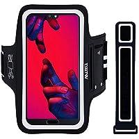 Fascia da Braccio Portacellulare per Correre, EOTW Porta Cellulare Braccio per Huawei P30 Pro, iPhone X11/XR/8 Plus/XS Max, Samsung S10/S9 Porta Smartphone Fascia Running (Per Smartphone 5''-6.5'')