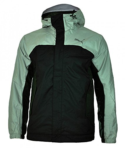 Puma City 2.0 Jacket Uomo Giacca Tempesta cellulare del vento impermeabile Giacca nera, Dimension:M