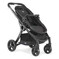 Chicco Urban Plus Crossover Unisex Stroller - Black