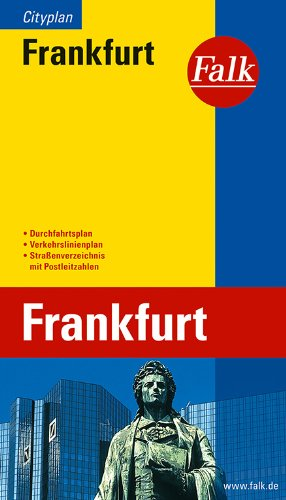 Falk Cityplan Frankfurt