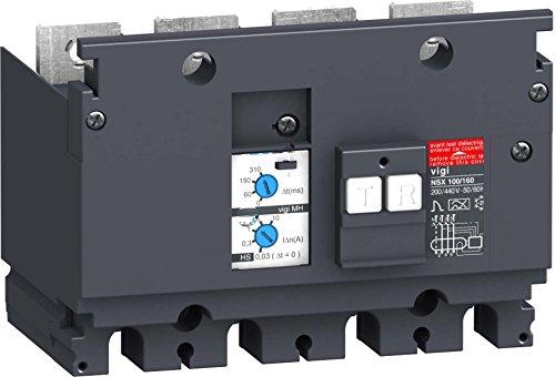 Schneider LV429211 Differenzstromblock Compact Vigi MH, 200-440 V, 30-10000mA, 4p Mh Compact