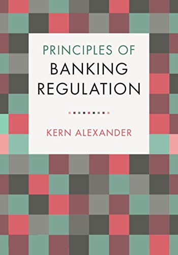 Principles of Banking Regulation (English Edition)