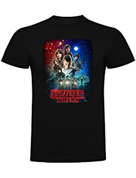 Camiseta de Niños Stranger Things Serie Retro TV 80