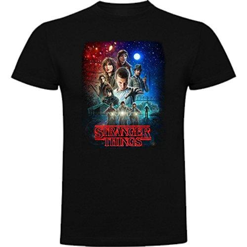 Camiseta de Mujer Stranger Things Serie Retro TV 80 S