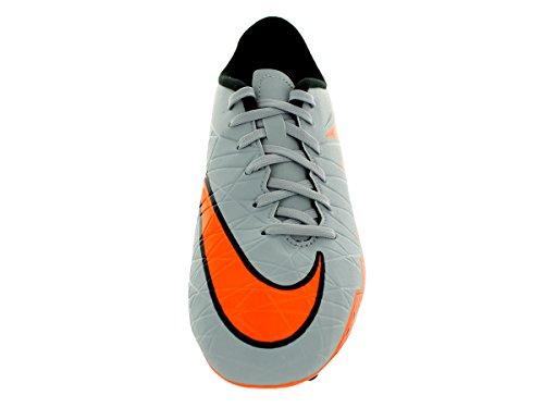 Nike Jungen Hypervenom Phelon Ii Fg Fußballschuhe WOLF GREY/TOTAL ORANGE-BLK