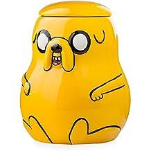 Adventure Time - Tarro de galletas, diseño de Jake de Hora de Aventuras