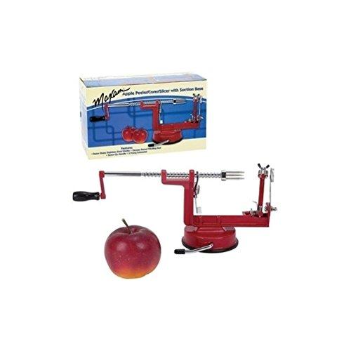 DeliaWinterfel 3 En 1 Éplucheur Pomme Trancheuse Dispositif Découpeur Noyauteuse – Faucheuse De Fruits Pomme De Terre [version:x5.6] by