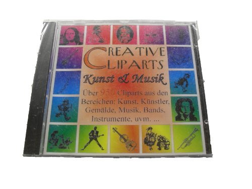 Creative Cliparts: Kunst & Musik