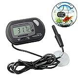 NUOCAI - Termometro Digitale LCD per Acquario, termometro per Acquario, per Acquario