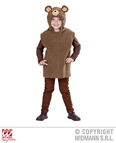 KINDERKOSTÜM - BÄR - 113 (Braunbär Kind Kostüm)