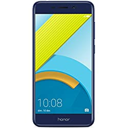 Honor 6C Pro Smartphone portable débloqué 4G (Ecran: 5,2 pouces - 32 Go - Double Nano-SIM - Android) Bleu