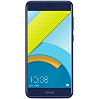 "HONOR 6C PRO SMARTPHONE LIBRE EMUI 5.1 (Pantalla de 5,2"" HD, 4G, cámara trasera 13MPx y frontal 8MPx, 3GB de RAM, 32 GB de ROM, Procesador Octa Core, bateria 3000 mAh, sensor de huellas, ANDROID), AZUL"