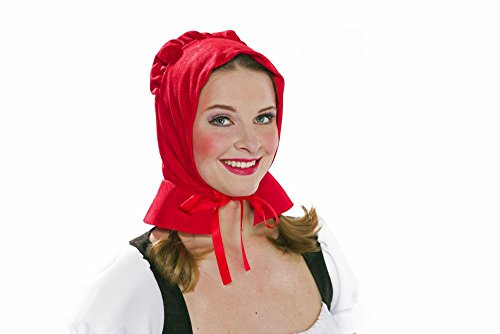 fasching rotkaeppchen Festartikel Müller Kostüm Zubehör Rotkäppchen Haube Karneval Fasching