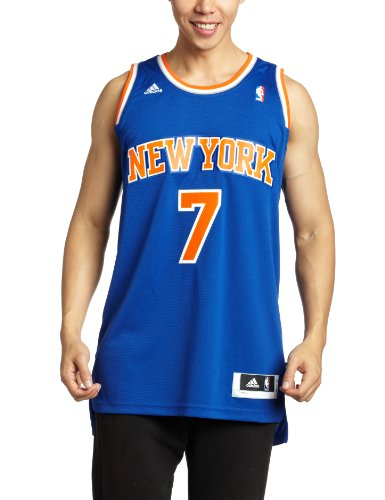 adidas Herren Trikot New York Knicks Carmelo Anthony NBA Swingman Away, Multi, L