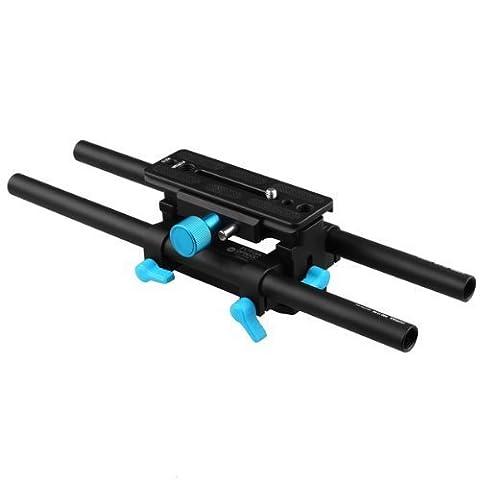 FOTGA DP3000 DSLR QR 15mm Rail Rod M4 Quick Release Support System for Matte Box follow focus EOS 5D Mark II III