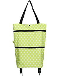Y-BOA Caddy Chariot Course Pliable 2 Roues Sac à Main Shopping Durable Voyage (4#)