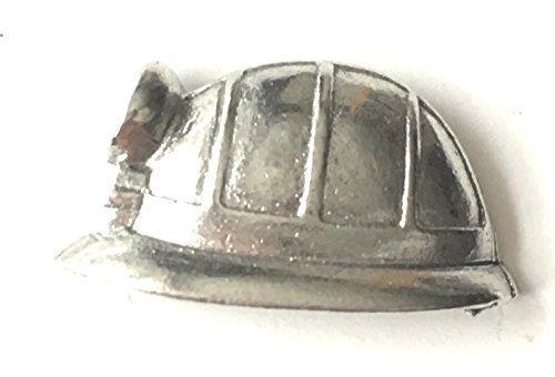 Bergarbeiter Helm Zinn Revers Anstecknadel + 59mm - Bergarbeiter Kostüm