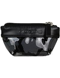 Porte monnaie femme bourse Mugler girafe bi-couleurs Slam 7 - Noir
