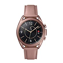 Samsung Galaxy Watch3 Stainless Steel 41 mm Bluetooth Smart Watch Mystic Bronze (UK Version)