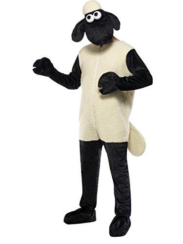 Das Kostüm Shaun Schaf - Smiffys Herren Kostüm Shaun das Schaf Schafkostüm Karneval Fasching