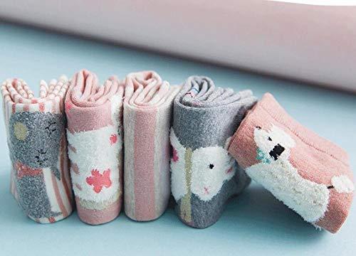 SUNHAO LUSTIGE Socken Cartoon Socken Frauen mittleren Zylinder Baumwolle Socken Stereo-Socken Haare Ohr Strümpfe
