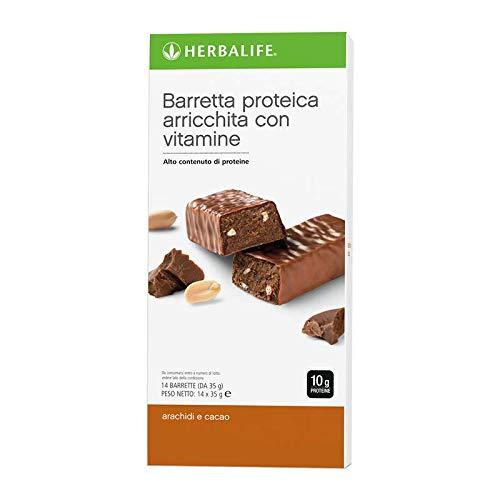 Barrette alle proteine cacao e arachidi