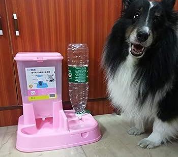 Scrox 2-in-1 chien automatique et machine nourriture pour chat Les chats et les chiens bol polyvalence pratique Combinaison distributeur de nourriture et d'eau