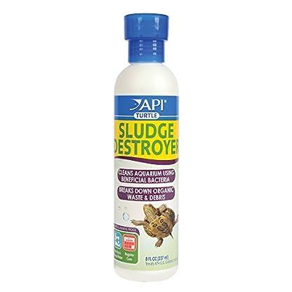 API TURTLE SLUDGE DESTROYER Aquarium Cleaner and Sludge Remover Treatment, 237 ml 1
