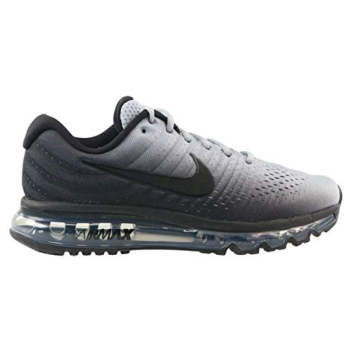 best sneakers 49441 a522a Nike Air MAX 2017, Zapatillas de Gimnasia para Hombre, Negro Black Wolf Grey