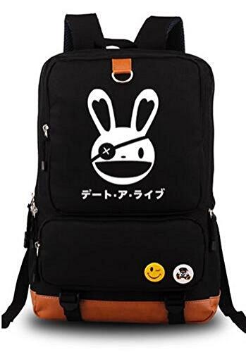 yoyoshome® Anime DATE A LIVE Cosplay Luminous Daypack Rucksack Rucksack Schultasche (Kotori Itsuka Kostüm)