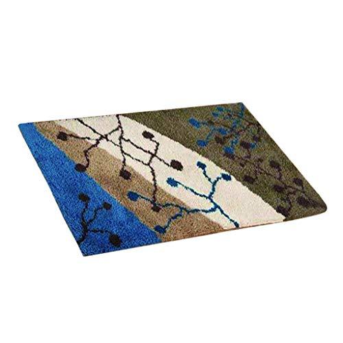 Sharplace Große Knüpfset Teppich Erwachsene, Knüpfteppich zum Selberknüpfen, Wohnzimmer Teppich Latch Hook Kit für Kinder und Anfänger - Herbstliche Landschaft