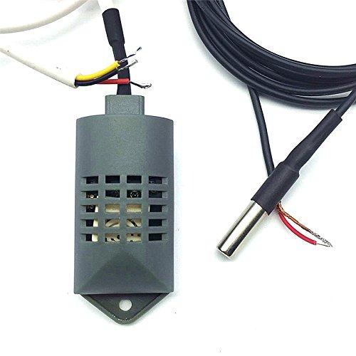 1Définit (2pcs) 1.8m-2m Multipurpose incubateur contrôleur Température détecteur d'humidité Sonde de température industriel incubateur Accessoires 1Lot (Sensor + Sonde)