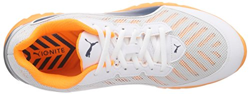 Puma Ignite Ultimate Mens Running Shoes White (white-orange Pop-blue Wing Teal 04)