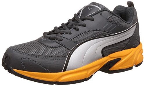 1. Puma Men's Atom Fashion III Idp Dark Shadow and Puma Silver Running Shoes