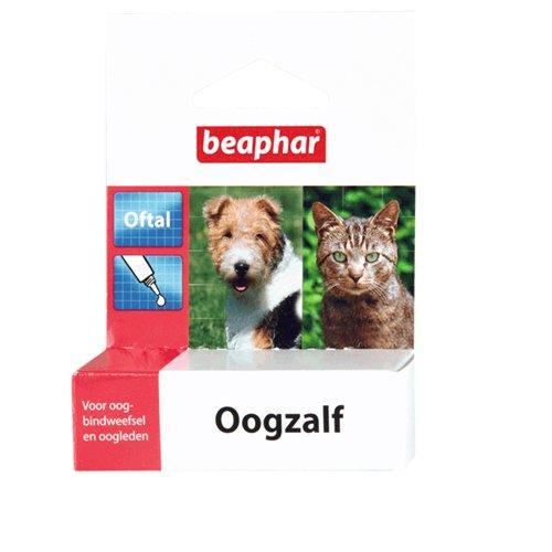 beaphar Oftal Augensalbe für Hunden und Katzen - 5 ml