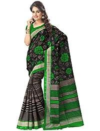 Vaamsi Bhagalpuri Printed Saree (TS1030_Multi-Coloured_6.3 M Length)