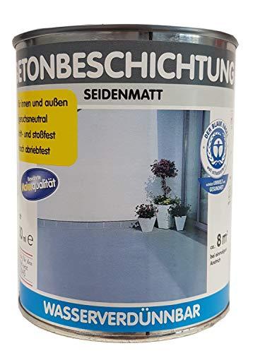 Wilckens-Rivestimento in cemento per interni e esterni wasserverduennbar seidenmatt Tinta A SCELTA 750ML