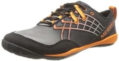 Merrell  TRAIL GLOVE 2 Outdoor Fitness Shoes Mens  multi-coloured Mehrfarbig (BLACK/TANGA) Size: 16 (50 EU)