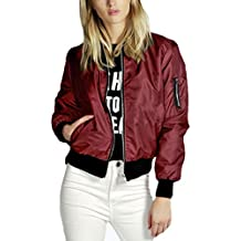 buy online b47af f9ca9 Amazon.it: giubbotto bomber - Rosso