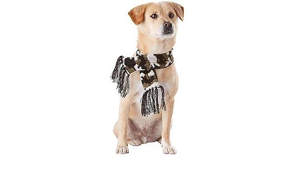Petco Wag A Tude Camo Knit Dog Scarf X Small Small Amazon Co Uk Kitchen Home