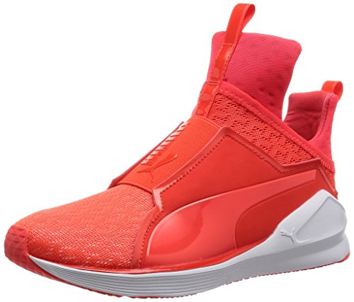 Puma Fierce Eng Mesh Sneaker Red Blast/Bianco